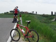Pé da colina - Toscana